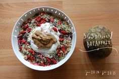 starting a 365 breakfast project! n__n~