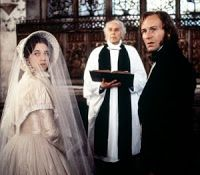 Enchanted Serenity of Period Films: Period Drama Weddings...Jane Eyre ( Joan Fontaine, Charlotte Gainsbourg)