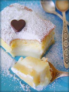 """Еще оно известно под названием """"невероятное"""" Тому, кто еще не встречал такого чудо-пирожного, объясню почему оно так назвается. Все ингредиенты смешиваются, получается очень жидкое тесто, но в духовке оно """"умным"""" образом расслаивается на слои: и у вас получается торт с кремом посередине. У меня…"""