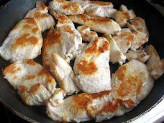 Daniela, bucatarie moldo-ardeleneasca: Piept de pui cu ciuperci Meat, Chicken, Food, Essen, Meals, Yemek, Eten, Cubs