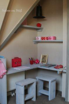 kinderspeelhoek in de woonkamer onder een trap - google zoeken, Deco ideeën
