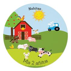 Birthday Party Invitations, Birthday Parties, Farm Animal Birthday, Farm Party, Farm Animals, Rsvp, Kids Rugs, Cute, Cards