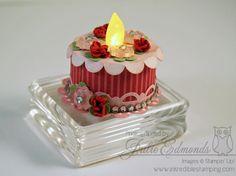 Valentine Tealight Cake