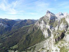 Picos de Europa - Blick von der Seilbahnstation El Cable