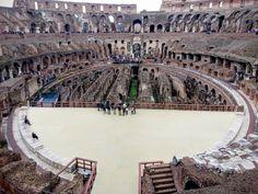 Na Janelinha para ver tudo: A grandiosidade do Coliseu romano