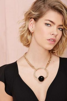 Ring My Ball Necklace   Shop What's New at Nasty Gal