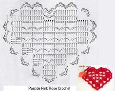 http://pinkrosecrochet.blogspot.it/2013/06/centrinho-coracao-com-ponto-lace.html