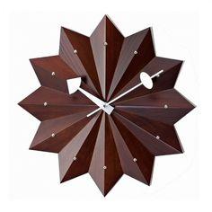 George Nelson Style Modern Minimalist Icon wall clock.