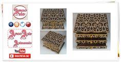 Peça organizadora - comoda com 3 gavetas - mdf http://amocarte.blogspot.com.br/