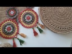 Crochet Doilies, Crochet Flowers, Crochet Stitches, Crochet Top, Diwali Decorations, Crochet Videos, Free Pattern, Diy And Crafts, Crochet Earrings