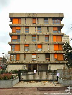 Créteil   Quartier Des Bleuets, 10 Bâtiments (1 Détruit En 2012) Architecte: