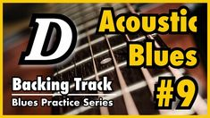 [Blues Practice Series] Blues (Acoustic Blues Style in D key Tempo - Backing Track & Sheet Music Racing Simulator, Kind Of Blue, Backing Tracks, Blue Fashion, Acoustic, Sheet Music, Blues, Guitar, Key
