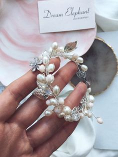 Wedding bracelets Bridal bracelets Flower bracelets Pearl | Etsy Bridal Bracelet, Flower Bracelet, Bridal Earrings, Pearl Bracelet, Wedding Jewelry, Wedding Bracelets, Or Rose, Rose Gold, Bridal Hair Accessories