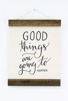 Good Things Wall Hanging | Moorea Seal