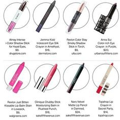 20 Pretty Makeup Sticks to Try This Winter, from Glamour.com