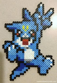 Digimon: Veemon Digimon is owned by Saban Toei Animation and Bandai. Find more Digimon perler bead designs on my Tumblr!