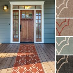 Indoor/Outdoor Runner Rug - A Collection by Anglina - Favorave ...