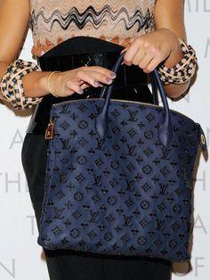 6f9fee57a907 navy Louis Vuitton shopper. Louis Vuitton Handbags