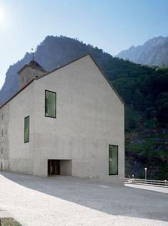 Stockalperturm Gondo byDurrer Linggi Architekten