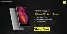 Redmi Note 4 Launched on Flipkart Order Now