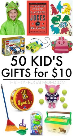 Looking for fun but frugal gifts for kids? Here are 50 of the best simple gift ideas- perfect for Christmas, birthdays, Valentines, back to school or just because! Check it out! #thriftyfrugalmom #giftsforkids #kidsgifts #christmasgifts #cheapgiftideas Easy Diy Gifts, Cheap Gifts, Simple Gifts, Frugal Christmas, Best Money Saving Tips, Get Well Gifts, Inexpensive Gift, Christmas Birthday, Making Ideas