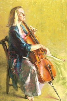 "Judith Carducci ~ ""Four Position (Judith Smith)"" ~ Pastel 36x24"