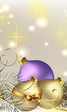 Purple and gold Christmas snowflake snow winter Christmas snowflake Christmas bobble Purple Christmas, Christmas Frames, Christmas Scenes, Retro Christmas, Christmas Pictures, Christmas Art, Christmas Holidays, Christmas Decorations, Christmas Ornaments