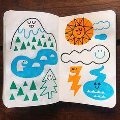 さて一気に過ごしやすい気温に。 うれしいような寂しいような。 今日もMoleskine手帳です。