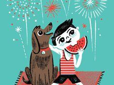 Happy 4th! by Brad Woodard