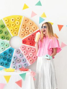 Donut Color Wheel   Oh Happy Day!