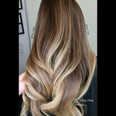 Gorgeous colors #balayage #ombre by Guy Tang