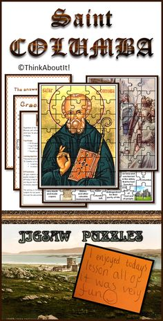 Motivate and enthuse your students with these five differentiated jigsaw puzzles which have the advantage of combining learning about St. Columba with the enjoyment of playing. #StColumba #Christianity #jigsawpuzzles #TesResources #KS3
