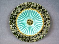 ori_942-34416-12195-Rorstrand-Majolica-plate-with-fluted-center-http ...