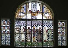 Jugendstilfenster im Otto-Wagner-Spital Wien