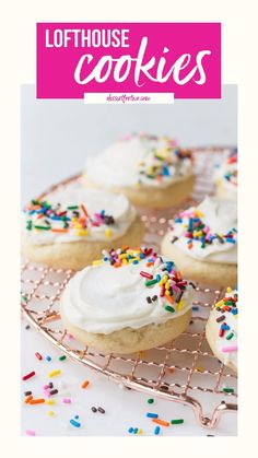 Easy Cookie Recipes, Dessert Recipes, Yummy Treats, Delicious Desserts, Lofthouse Sugar Cookies, Drink Recipe Book, Low Calorie Desserts, Sugar Cookie Frosting, Yummy Drinks