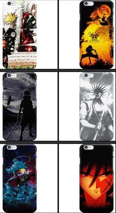Cool Anime iPhone Cases & Skins