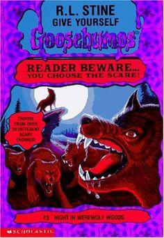 Night In Werewolf Woods (Give Yourself Goosebumps) by R.L. Stine http://www.amazon.com/dp/059067319X/ref=cm_sw_r_pi_dp_Qchsvb09NPZ3J