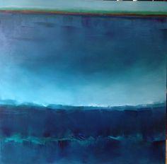 Huile sur toile - 2013 -  100/100cm Gabriella Moussette
