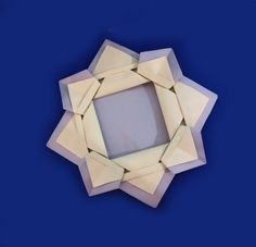 How to Make a Paper Picture Frame. Origami Photo frame easy and rich.