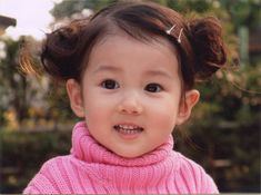 Cute Asian Babies | cute - cutest - baby - girl - pink - asian - turtle neck - smile ...