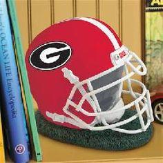 Georgia Bulldogs Helmet Bank