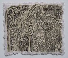 cemetery quilts | Cemeteries / Grave rubbing quilt. I soooo want to make one of these!