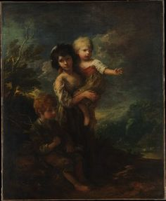 cottage children - the woodgatherers - thomas gainsborough