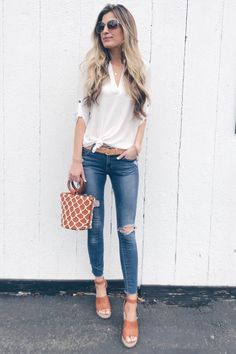 9f33ad15829c 1390 Best Casual Spring Outfits images in 2019 | Moda femenina, Cute ...
