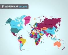 30 HighQuality Free World Map Templates Background templates