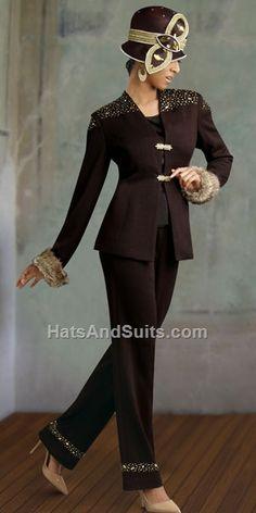Donna Vinci KNITS Women Church Suit 2907