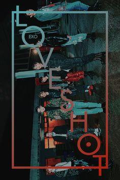 LOVE SHOT // EXO FIFTH REPACKAGE ALBUM Exo Chen, Kpop Exo, Exo Chanyeol, Exo K, Musica Love, L Wallpaper, Exo Album, Exo Group, Exo Lockscreen