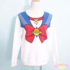 [Sailor Moon Crystal] Manga Version Bow Fleece Jumper SP151633