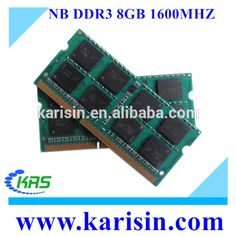 Most Popular cheap laptop 1600mhz 8gb ddr 3 ram with ETT original chips