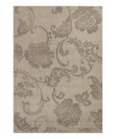 This Gray Silhouette Rug is perfect! #zulilyfinds